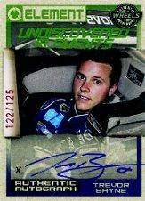 2010 Element Undiscovered Elements Autographs #UETB Trevor Bayne