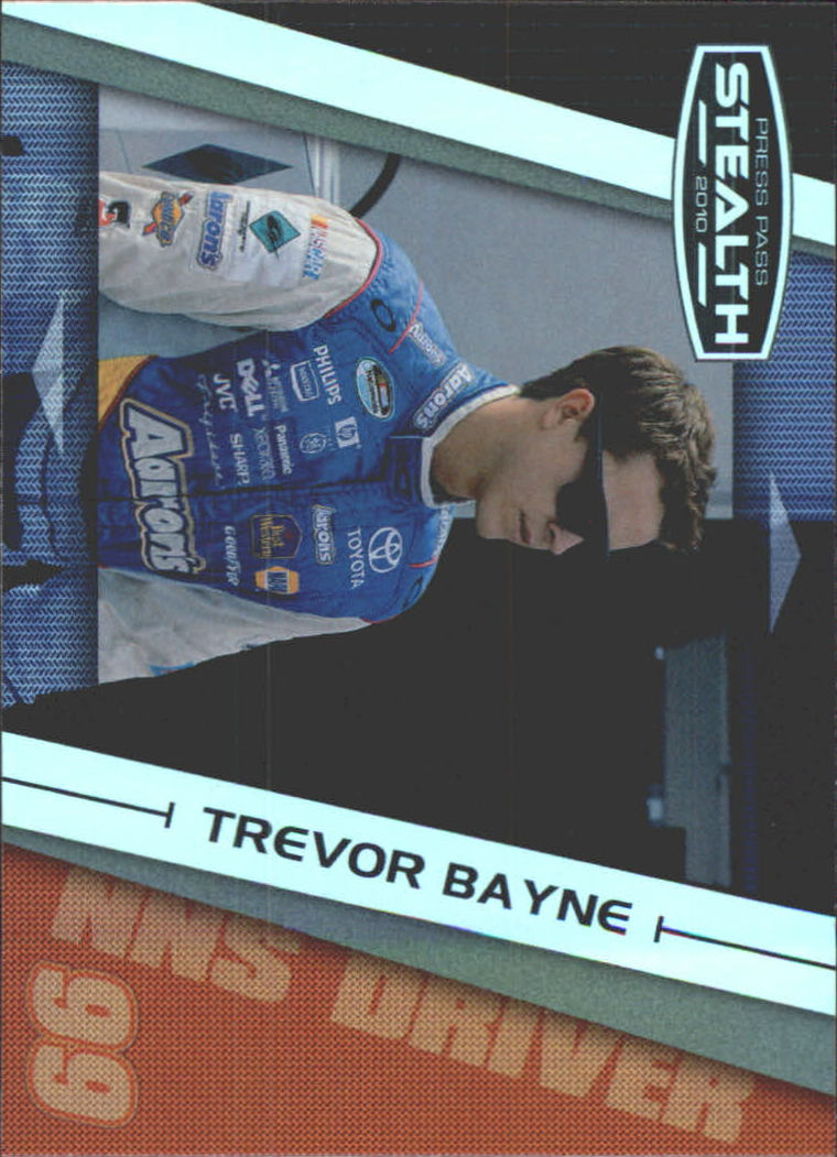 2010 Press Pass Stealth #47 Trevor Bayne NNS RC