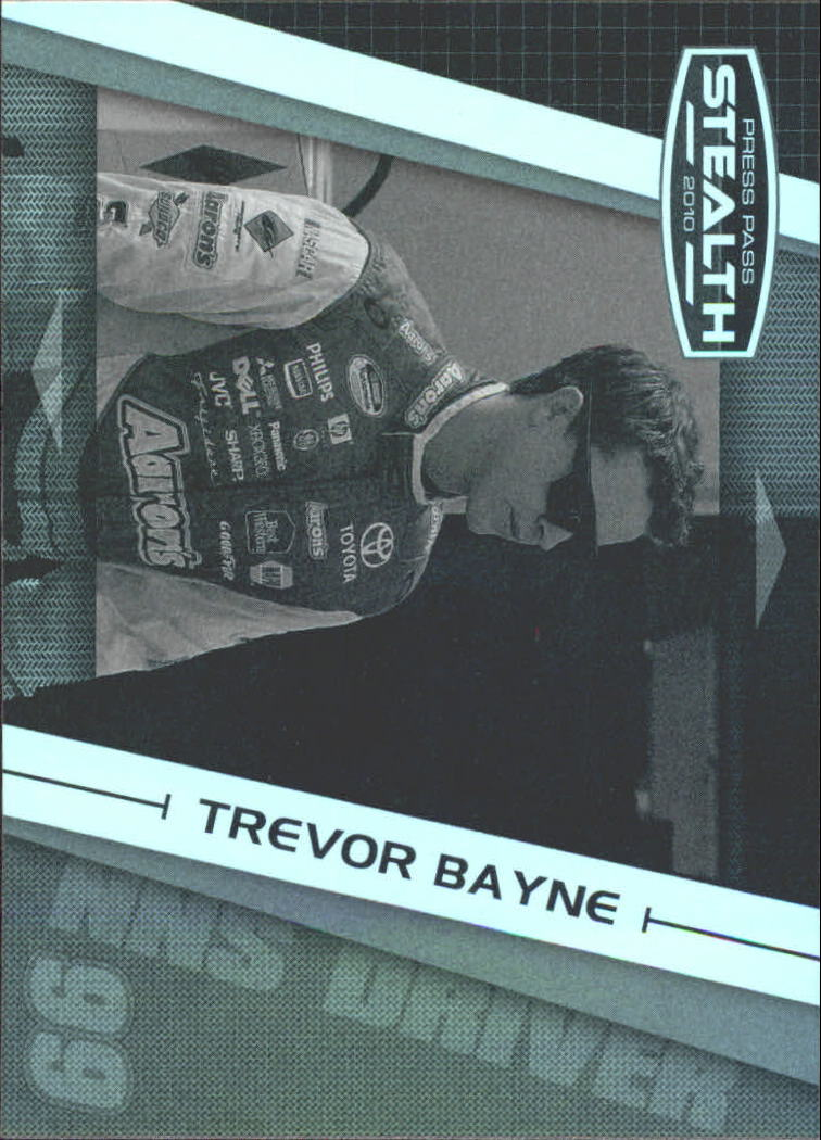 2010 Press Pass Stealth Black and White #47 Trevor Bayne NNS