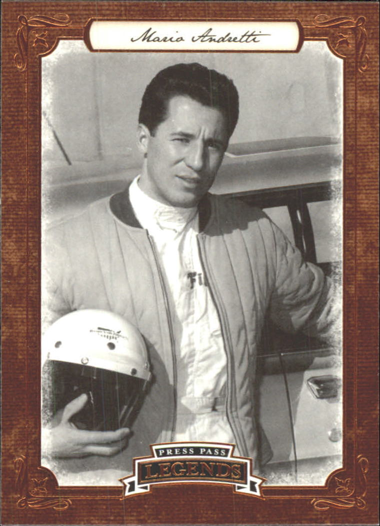 2010 Press Pass Legends #4 Mario Andretti