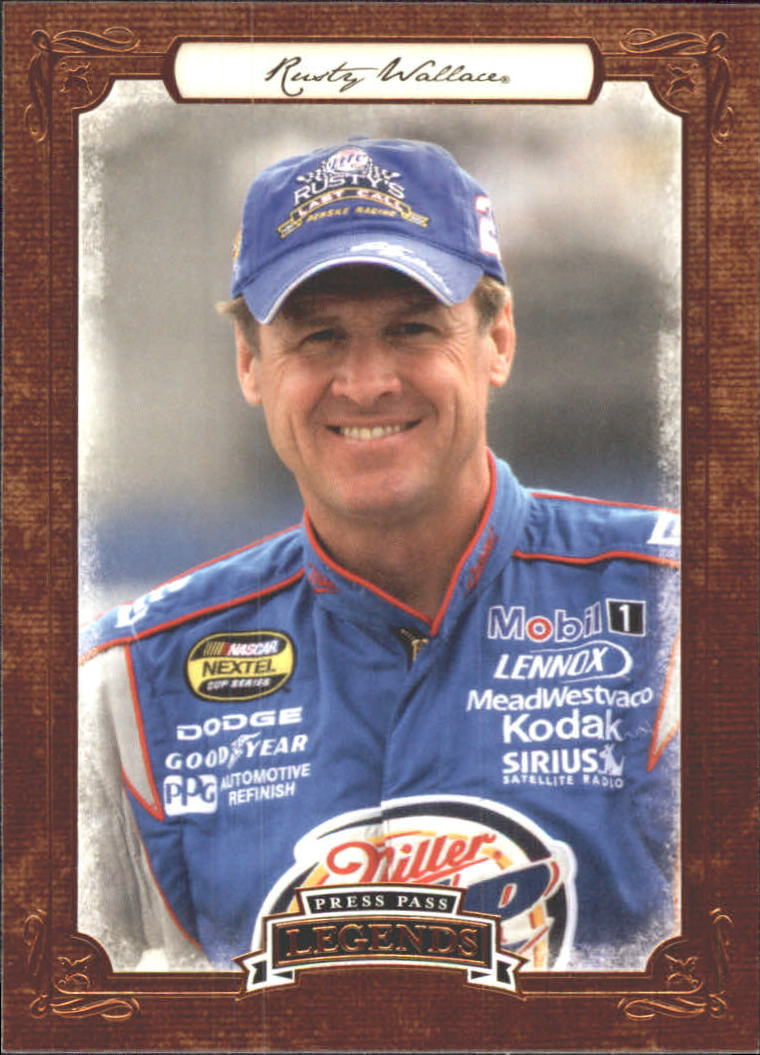 2010 Press Pass Legends #33 Rusty Wallace