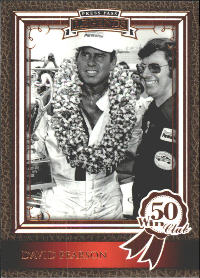 2010 Press Pass Legends #62 David Pearson WC