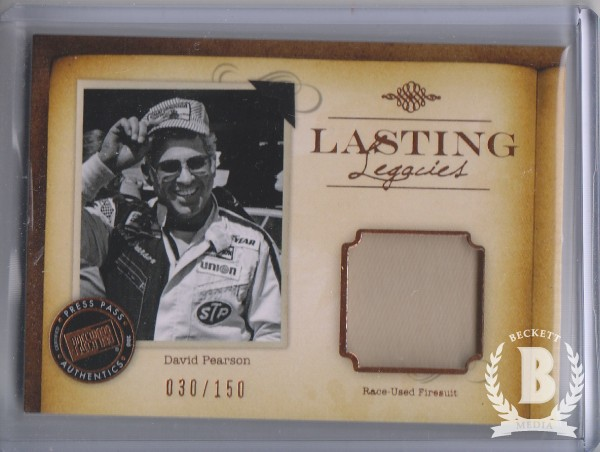 2010 Press Pass Legends Lasting Legacies Copper #LLDP David Pearson/150