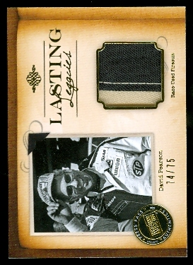 2010 Press Pass Legends Lasting Legacies Gold #LLDP David Pearson