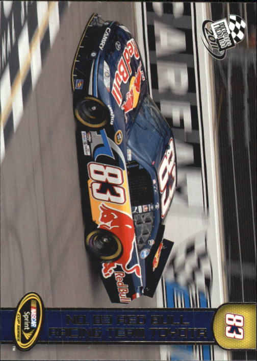 2011 Press Pass #91 Brian Vickers's Car