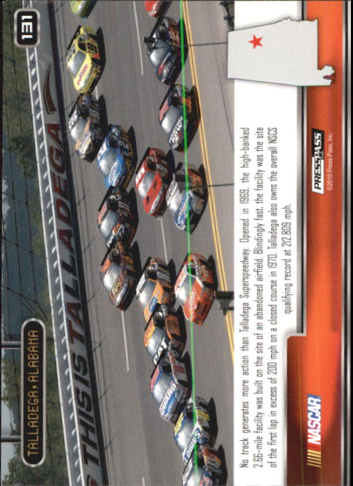 2011 Press Pass #131 Jr/Martin/Reut/Ragan's Cars TALL back image