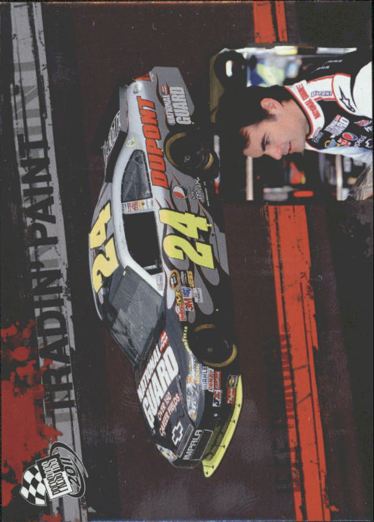 2011 Press Pass Tradin' Paint #TP5 Jeff Gordon