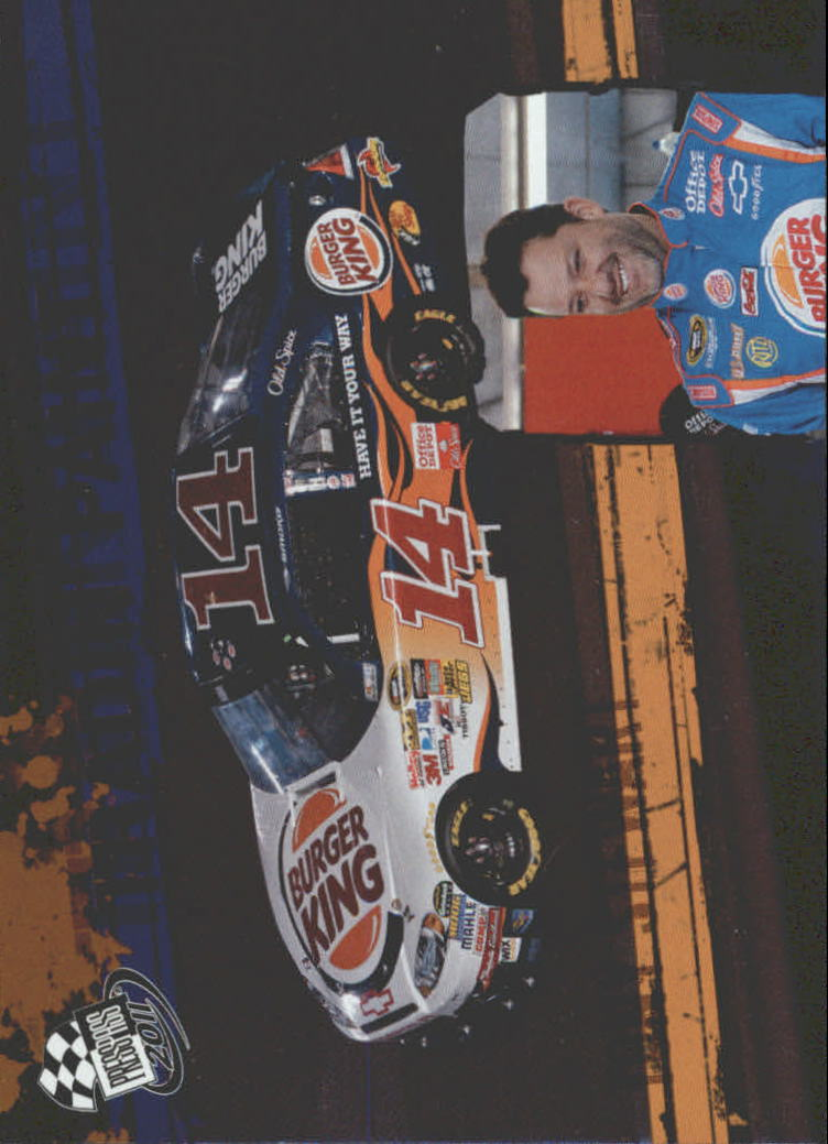 2011 Press Pass Tradin' Paint #TP8 Tony Stewart