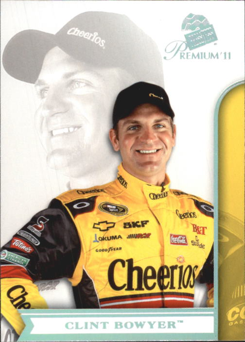 2011 Press Pass Premium #5 Clint Bowyer