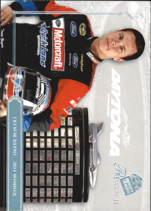 2011 Press Pass Premium #54 Trevor Bayne D500