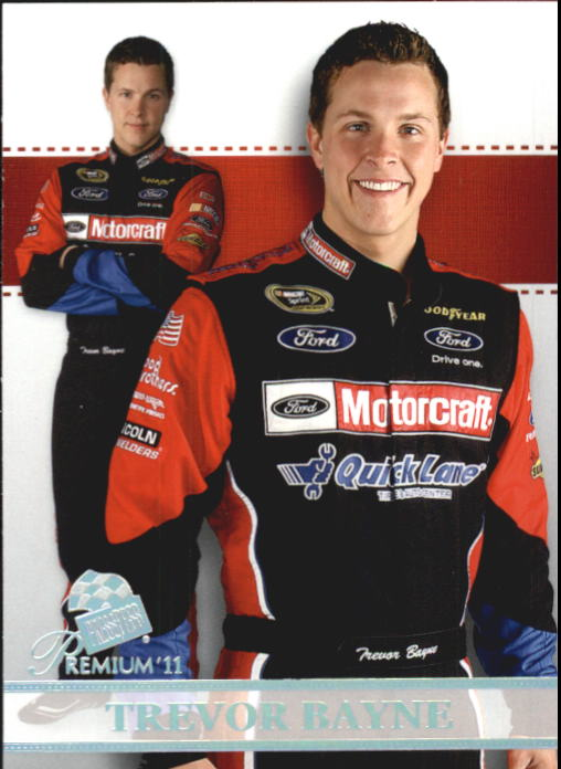 2011 Press Pass Premium #56 Trevor Bayne SU