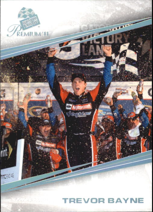 2011 Press Pass Premium #85 Trevor Bayne PT