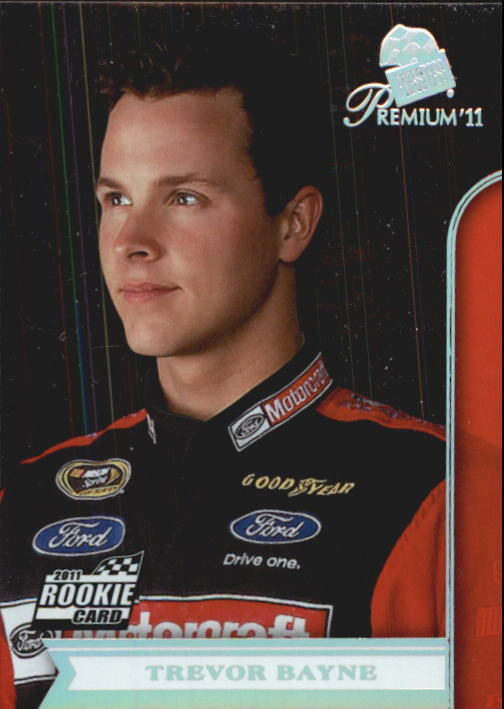 2011 Press Pass Premium #3B Trevor Bayne SP