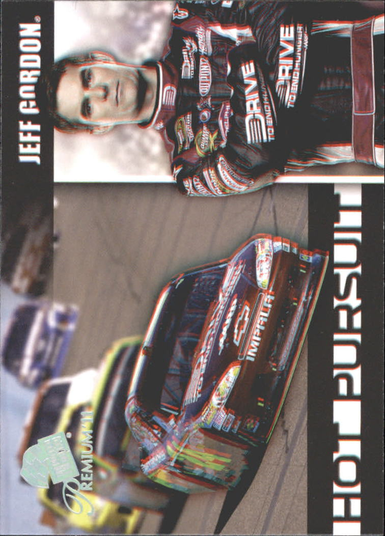 2011 Press Pass Premium Hot Pursuit 3D #HP3 Jeff Gordon