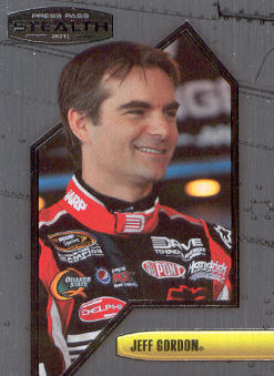 2011 Press Pass Stealth #4 Jeff Gordon