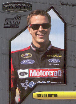 2011 Press Pass Stealth #39 Trevor Bayne CRC