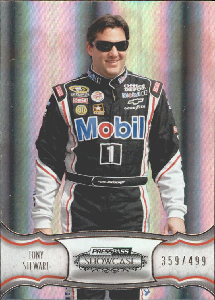 2011 Press Pass Showcase #4 Tony Stewart
