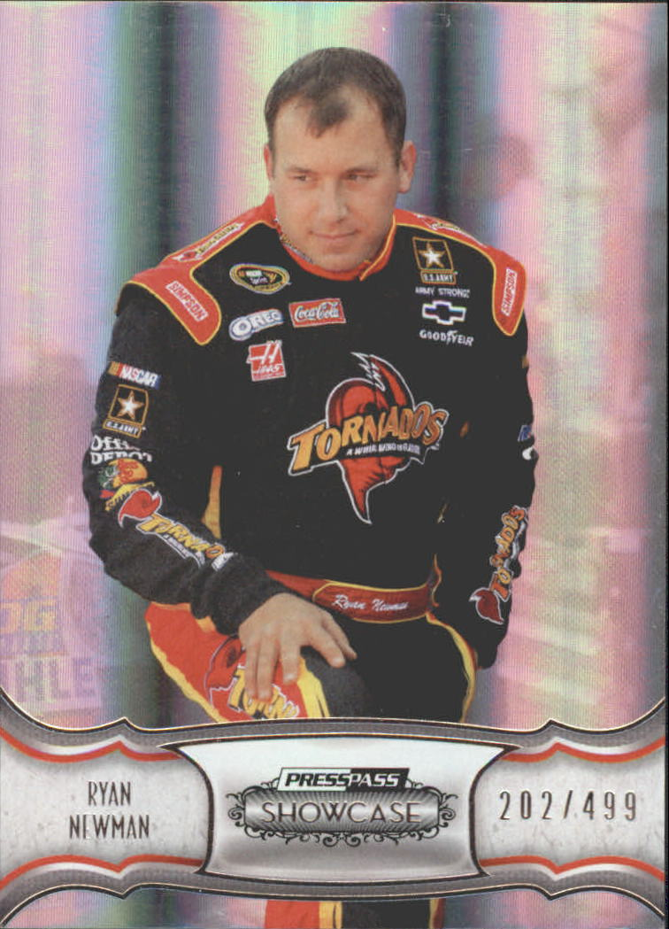 2011 Press Pass Showcase #8 Ryan Newman