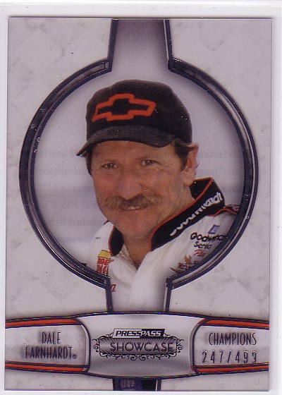 2011 Press Pass Showcase Champions #CH11 Dale Earnhardt