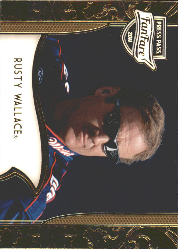 2011 Press Pass FanFare #93 Rusty Wallace