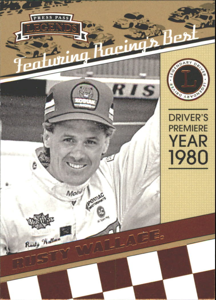 2011 Press Pass Legends #34 Rusty Wallace