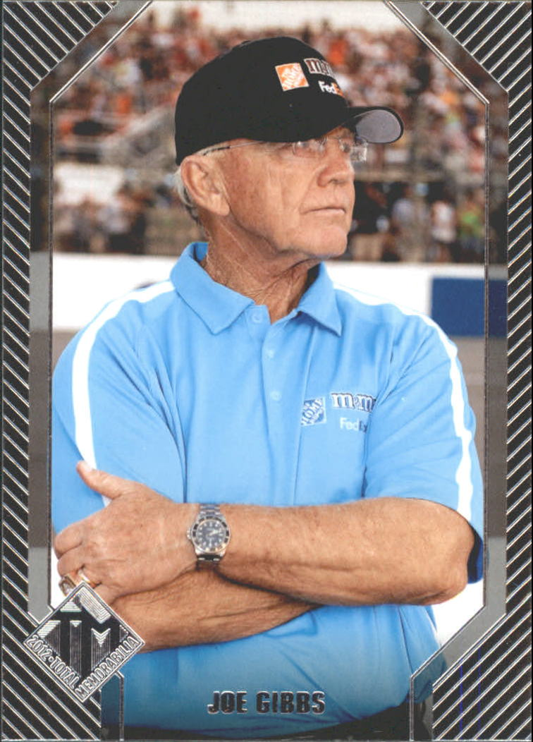 2012 Total Memorabilia #43 Joe Gibbs OWN