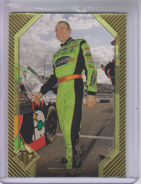 2012 Total Memorabilia Gold #21 Mark Martin