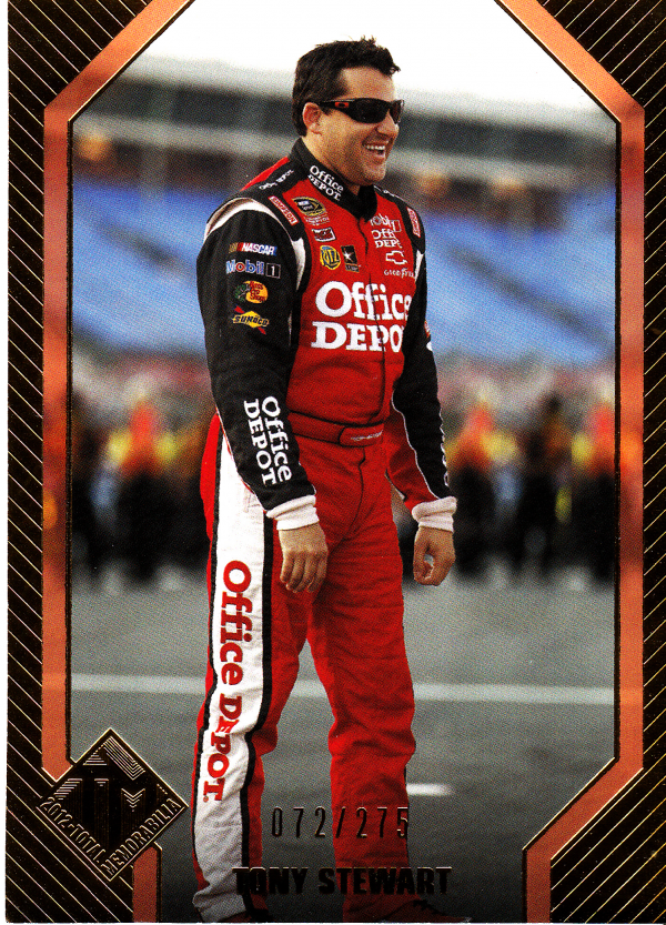 2012 Total Memorabilia Gold #29 Tony Stewart