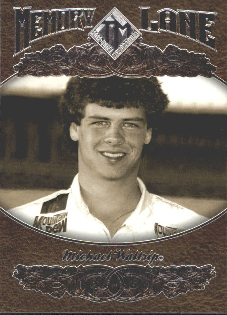 2012 Total Memorabilia Memory Lane #ML8 Michael Waltrip