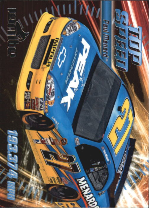 2012 Press Pass Ignite #64 Paul Menard's Car TS