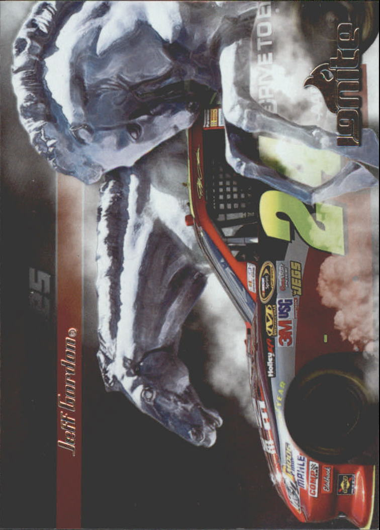 2012 Press Pass Ignite Steel Horses #SH2 Jeff Gordon's Car