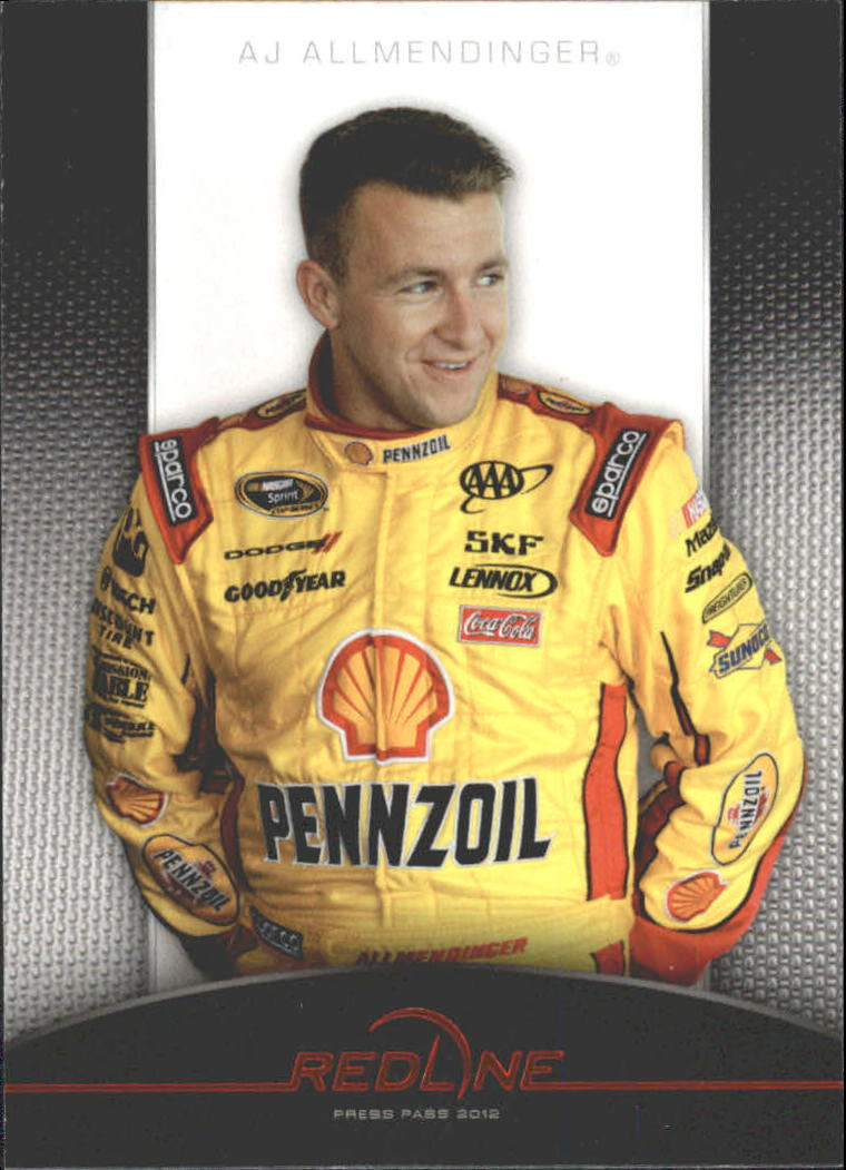 2012 Press Pass Redline #1 A.J. Allmendinger