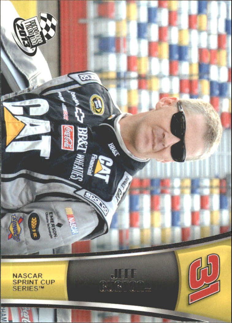 2013 Press Pass #7 Jeff Burton