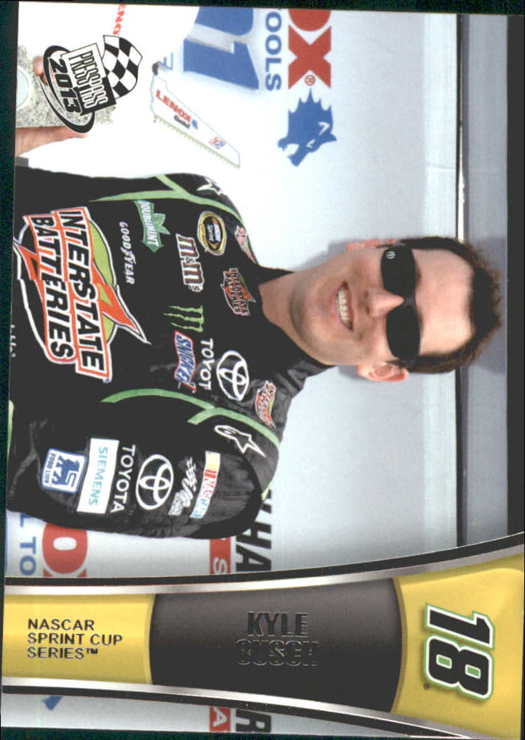 2013 Press Pass #10 Kyle Busch