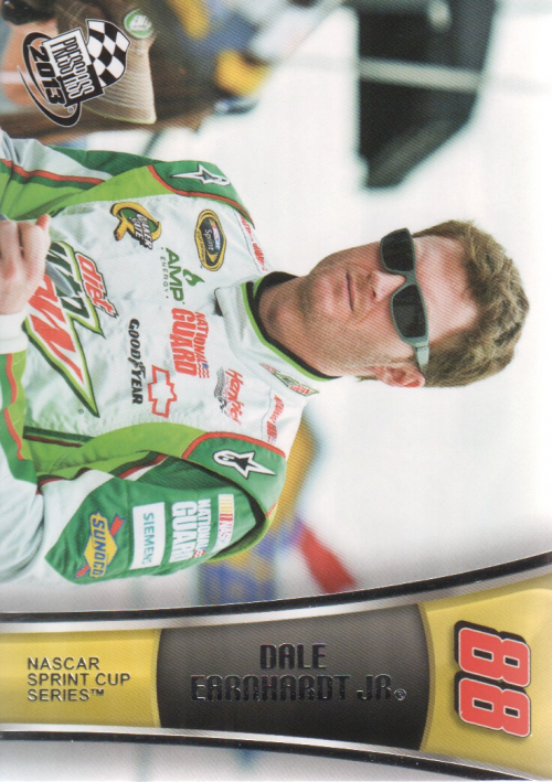 2013 Press Pass #13 Dale Earnhardt Jr.