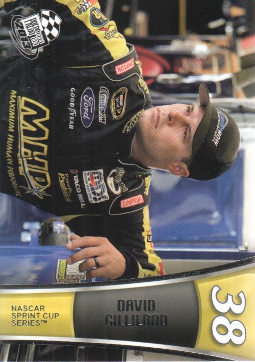 2013 Press Pass #15 David Gilliland