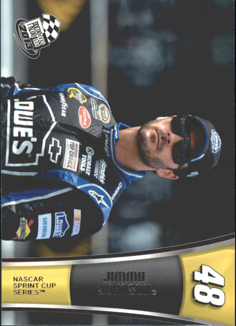 2013 Press Pass #21 Jimmie Johnson