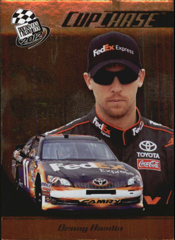 2012 Press Pass Cup Chase Prizes #CCP1 Denny Hamlin