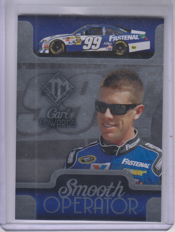 2013 Total Memorabilia Smooth Operators #SO9 Carl Edwards