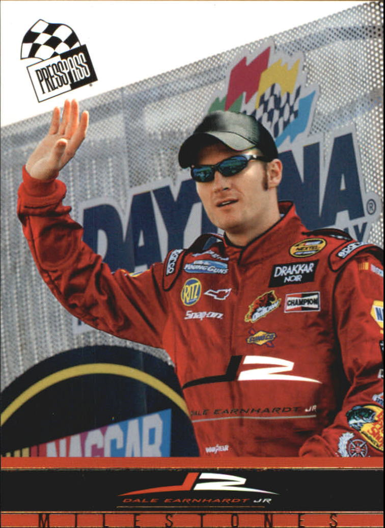 2004 Press Pass Dale Earnhardt Jr. Gold #D34 Dale Earnhardt Jr. M