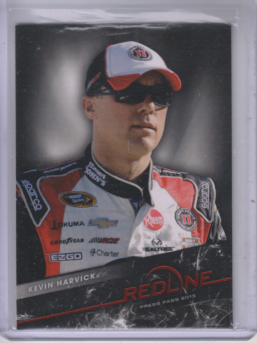 2013 Press Pass Redline #21 Kevin Harvick