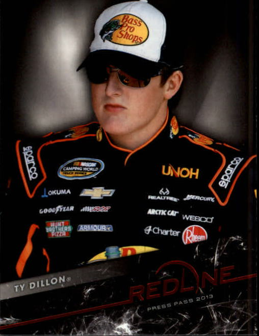 2013 Press Pass Redline #50 Ty Dillon