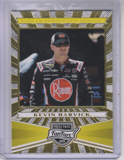 2013 Press Pass Fanfare #24 Kevin Harvick