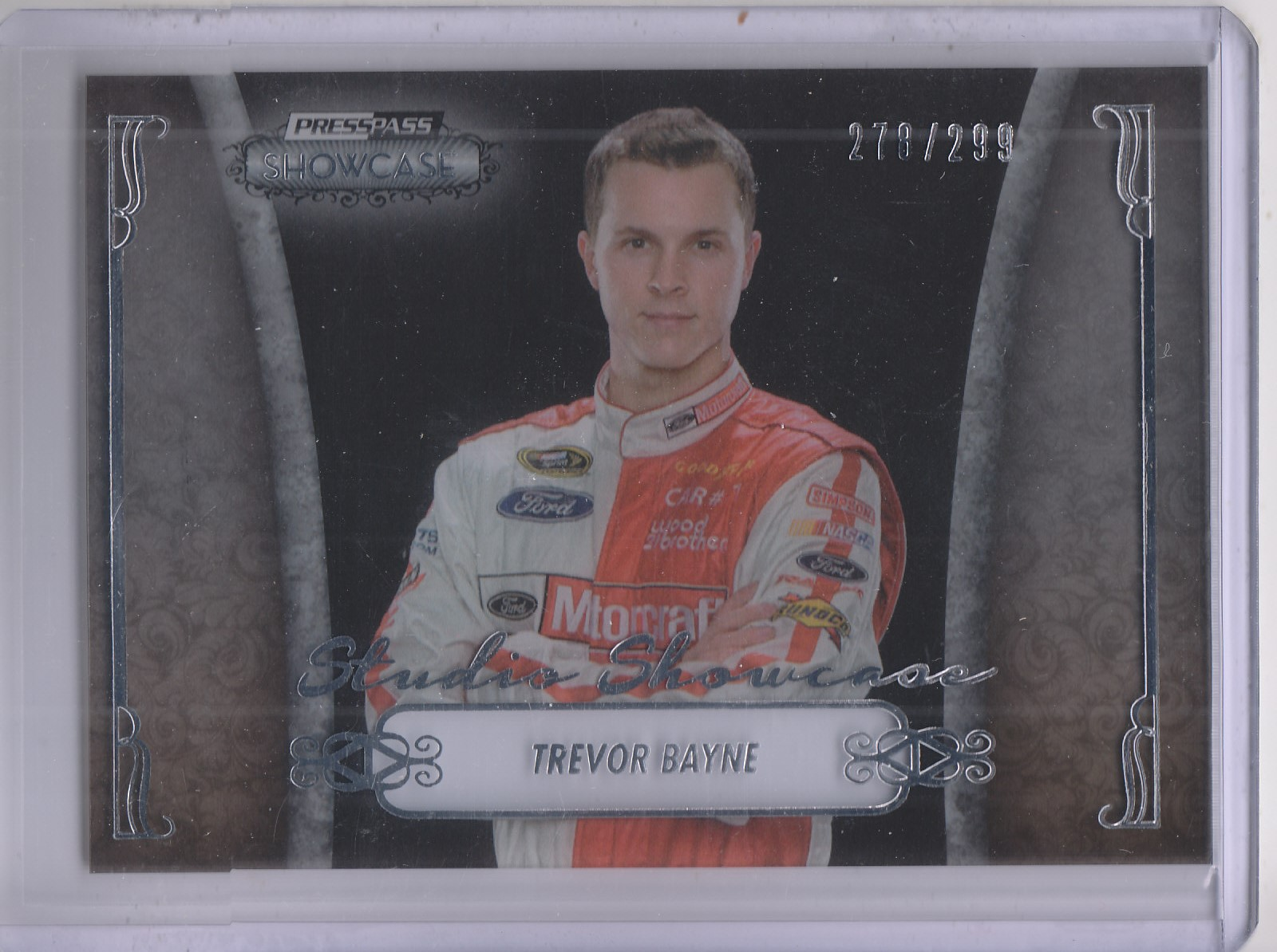 2013 Press Pass Showcase Studio Showcase #1 Trevor Bayne