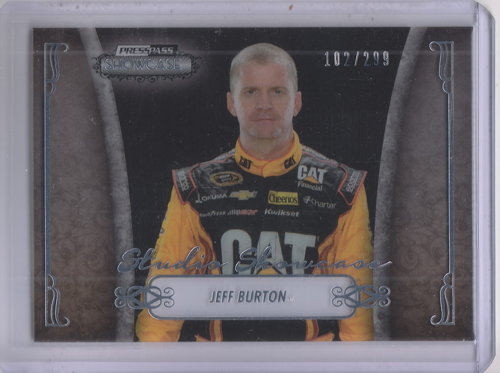 2013 Press Pass Showcase Studio Showcase #8 Jeff Burton