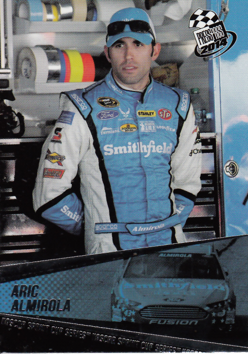 2014 Press Pass #1 Aric Almirola