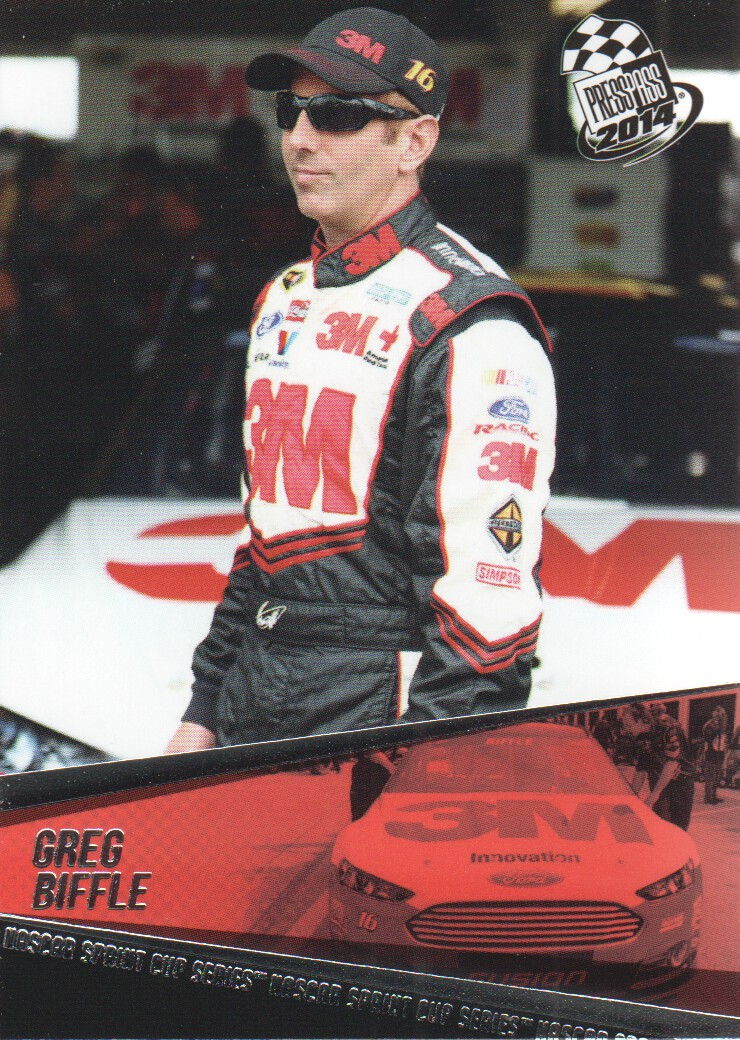 2014 Press Pass #3 Greg Biffle