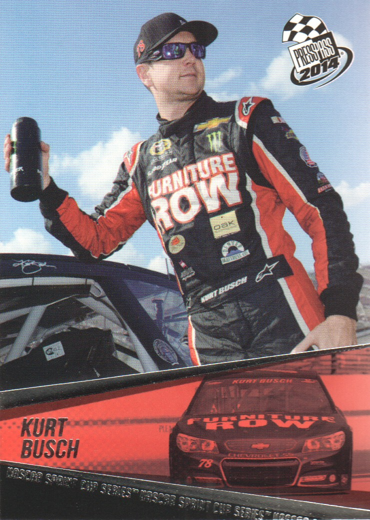 2014 Press Pass #6 Kurt Busch
