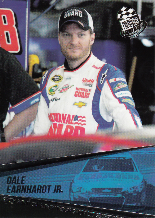 2014 Press Pass #9 Dale Earnhardt Jr.
