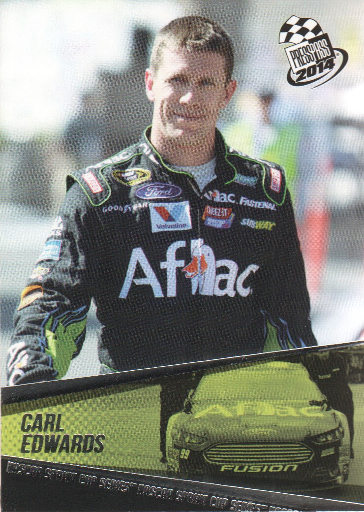 2014 Press Pass #10 Carl Edwards